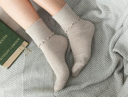 Chantalle Kadın Soket Çorap - Bej