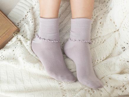 Chantalle Kadın Soket Çorap - Mürdüm
