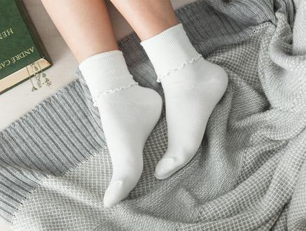 Chantalle Kadın Soket Çorap - Ekru