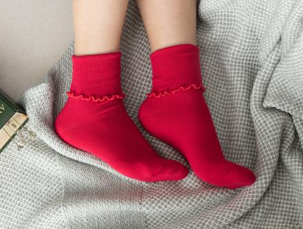 Chantalle Kadın Soket Çorap - Kırmızı