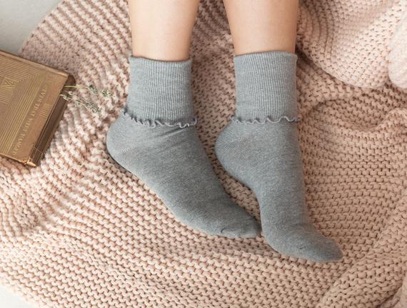 Chantalle Kadın Soket Çorap - Gri
