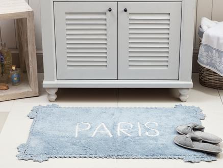 Paris Banyo Paspası - Indigo