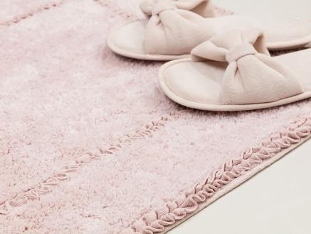 Dior Banyo Paspası - Pudra