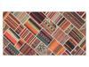 Orva Dijital Baskılı Halı - Bordo - 80x150 cm