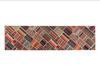 Orva Dijital Baskılı Halı - Bordo 80x300 cm