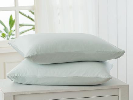 Stella Saten Yastık Kılıfı Seti - Mint Yeşili