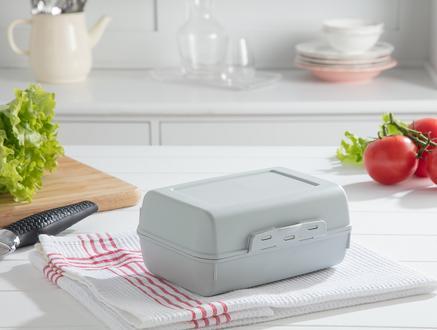 Yvonna Geniş Lunch Box - Soft Yeşil