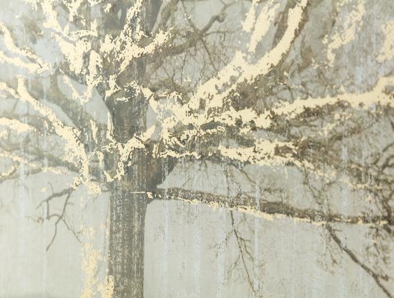 Automne Ağaç Figürü Tablo