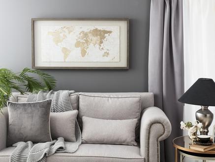Monde Dünya Haritası Tablo
