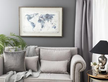 Planétaire Dünya Haritası Tablo