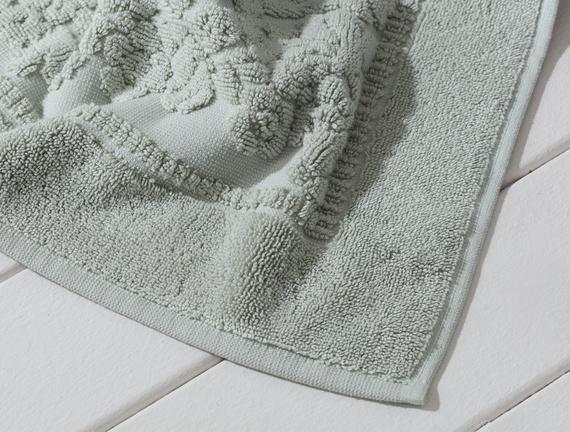 Ranier Ayak Havlusu - Mint Yeşili - 60x90 cm