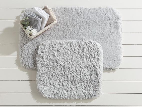 Sheep 2'li Banyo Paspas Takımı - Gri