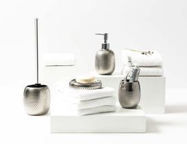 Curcio 4'lü Banyo Seti - Silver
