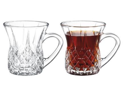 Florus 4'lü Çay Fincanı