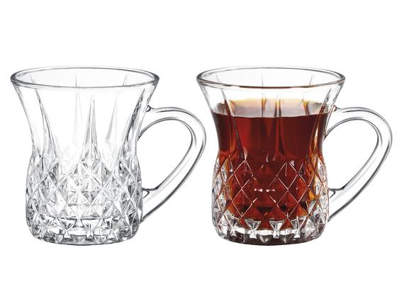 Florus 4'lü Çay Fincanı 140 ml