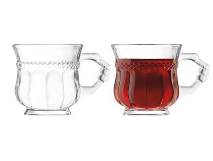 Jeanina 4'lü Çay Fincanı