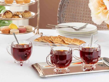 Priour 4'lü Çay Fincanı 170 ml