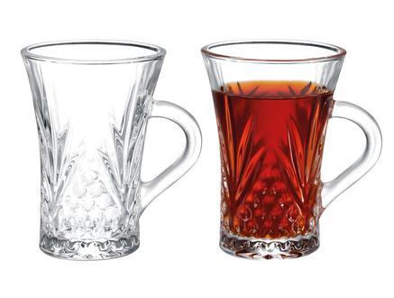 Felecia 4'lü Çay Fincanı