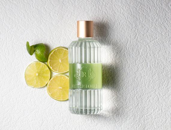 RÉPERTOIRE Cam Şişe Kolonya 80° 200 ml Citron Vert (Yeşil Limon)