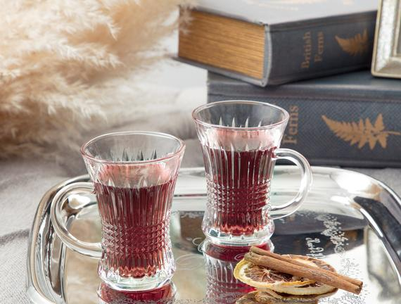 Burnice 4'lü Çay Fincanı 140 ml