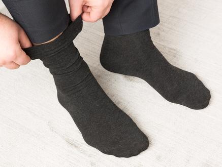 Rettel Erkek Soket Çorap - Antrasit