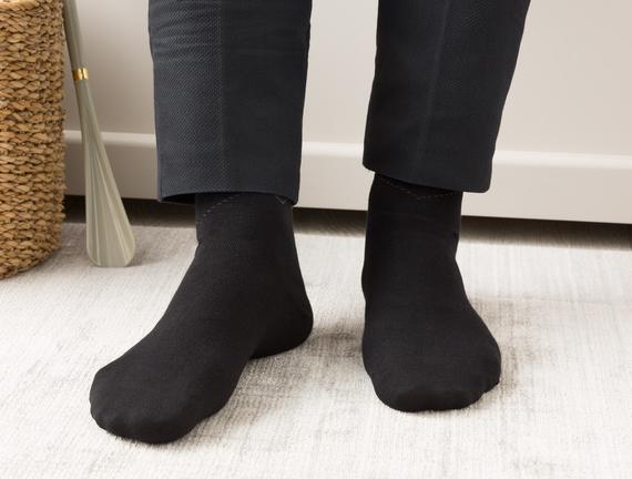Arles Erkek Soket Çorap - Siyah