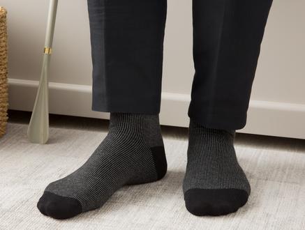 Nissi Erkek Soket Çorap - Siyah