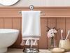 Gordes Kroşeli El Havlusu - Beyaz - 30x46 cm