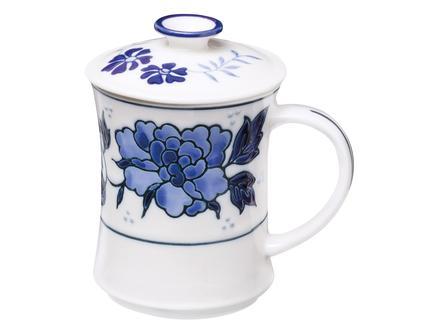 Rêve Sakura Kapaklı Porselen Kupa 220 ml