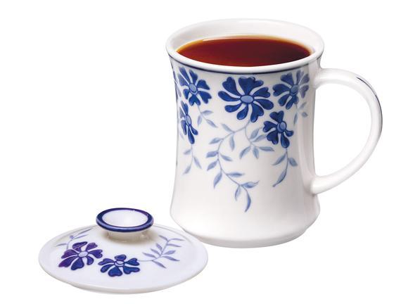 Rêve Mudan Kapaklı Porselen Kupa 220 ml