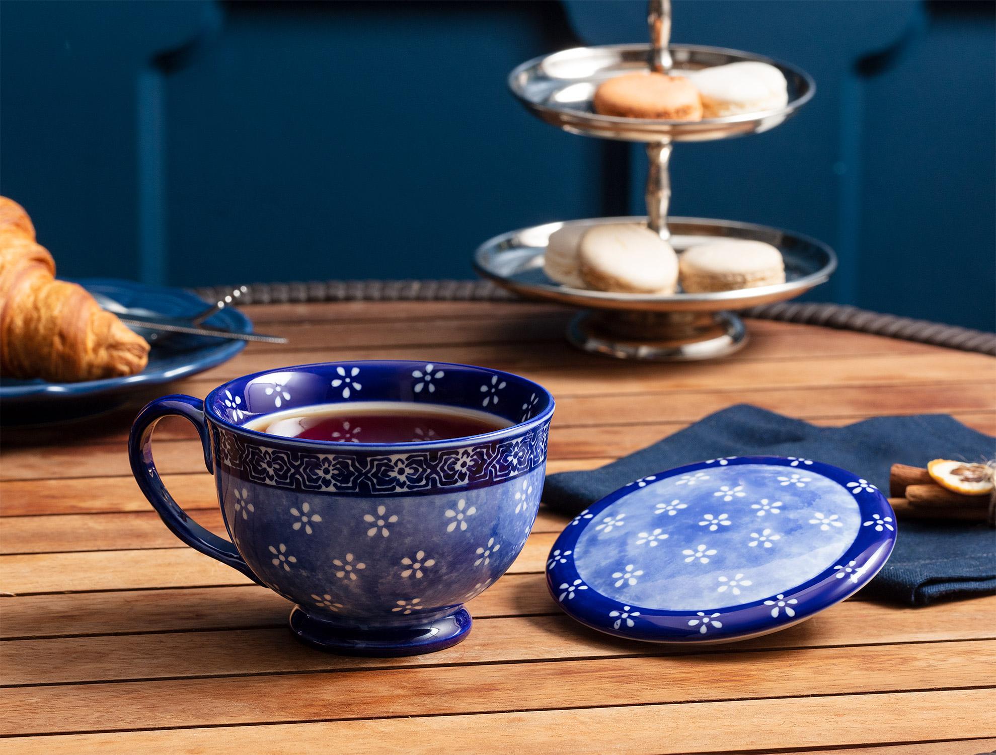 Rêve Kapaklı Çay Fincanı