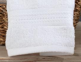 Abrial Bambu El Havlusu - Beyaz