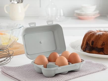 Quotidien 6'lı Yumurta Saklama Kabı - Soft Yeşil