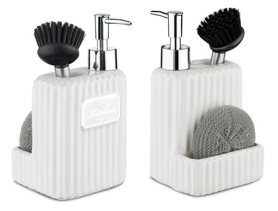 Freman Fırçalı Sıvı Sabunluk - Soft Ekru