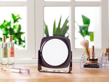 Ferca Makyaj Aynası - Koyu Mürdüm