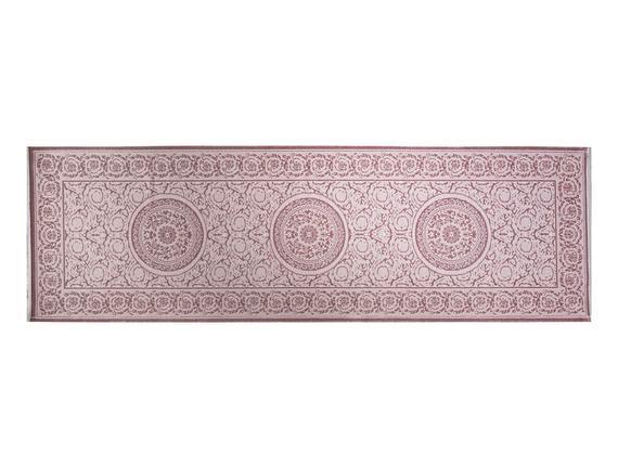 Lotus Shinny Effect İpeksi Kadife Halı - Mürdüm - 80x250 cm