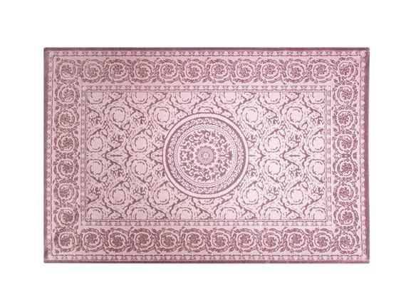 Lotus Shinny Effect İpeksi Kadife Halı - Mürdüm - 160x230 cm