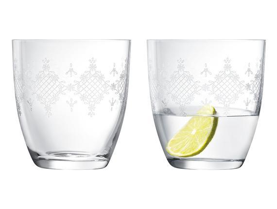 Quinn 6'lı Bohemia Kristali Meşrubat Bardağı Takımı - STD