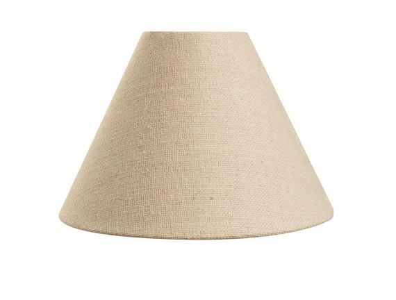 Lune Cone Abajur Şapkası - Bej