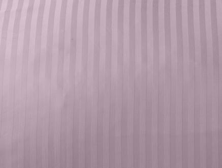 Stella Çift Kişilik Çizgili Saten Nevresim Takımı - Açık Mürdüm