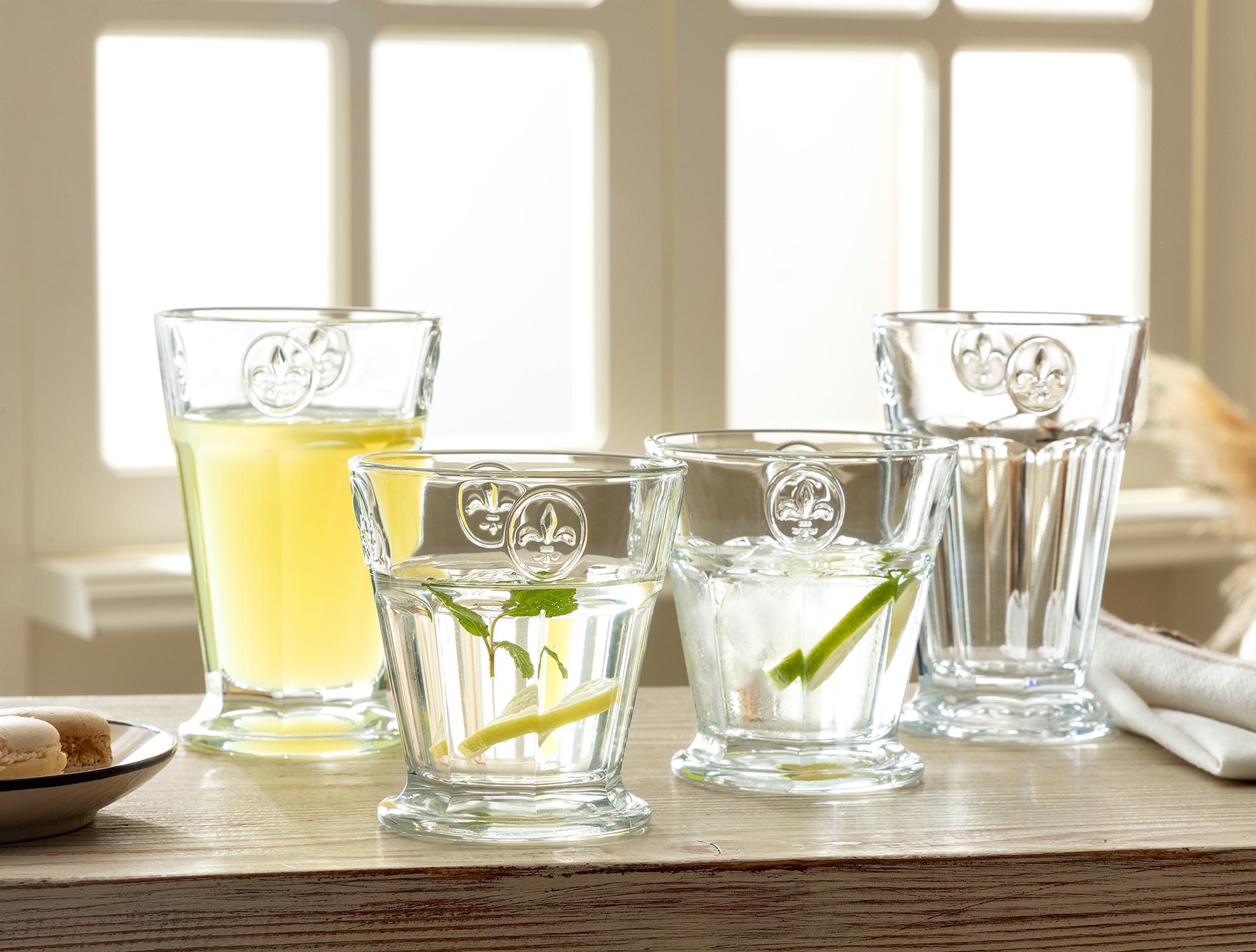 Florentine 4'lü Su Bardağı 230 ml