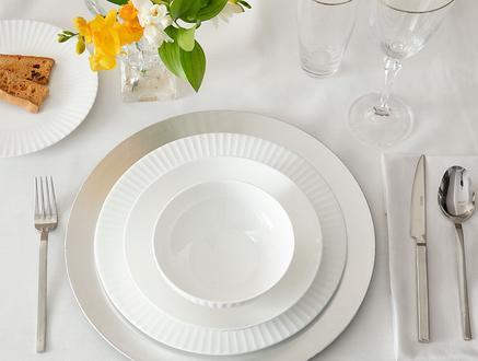 Amelie 16 Parça Yemek Takımı - Beyaz