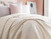 Eliane Tek Kişilik Yatak Örtüsü - Ekru