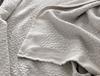 Eugenia Çift Kişilik Yatak Örtüsü - Gri