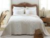 Fayette Tek Kişilik Yatak Örtüsü - Bej / Beyaz