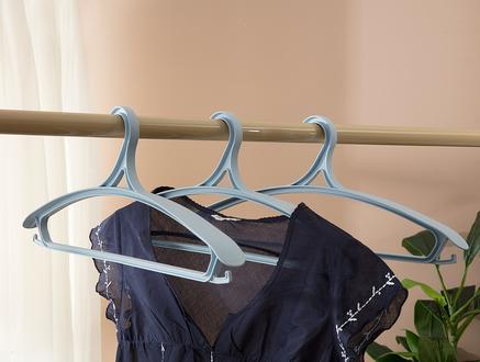 Leroux 3Lü Elbise Askısı - Soft Mavi