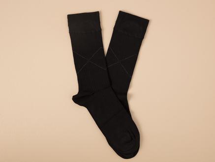 Davin Erkek Soket Çorap - Siyah
