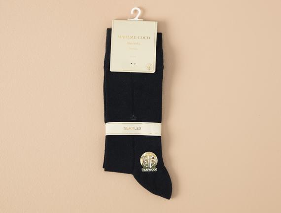 Tilleus Bambu Erkek Soket Çorap - Lacivert