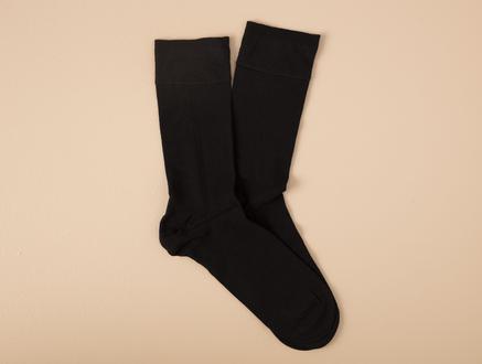 Anageta Bambu Erkek Soket Çorap - Siyah