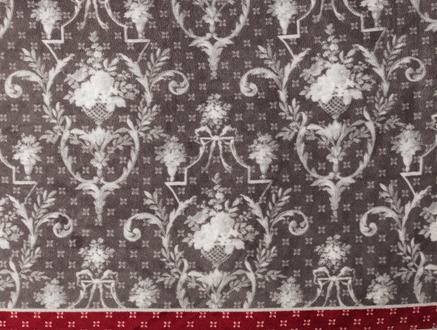 Manech Wellsoft Baskılı Çift Kişilik Battaniye - Gri / Kırmızı